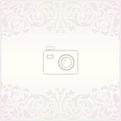 Bild hellen Hintergrund mit Ornamenten
