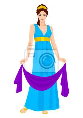 Hera, die Frau und einer der drei Schwestern von Zeus