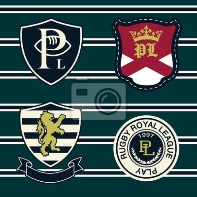 Heraldik Stickerei
