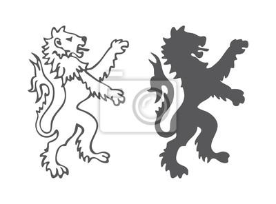 Heraldy Lion