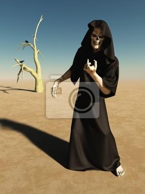 Heranlocken Abbildung des Todes