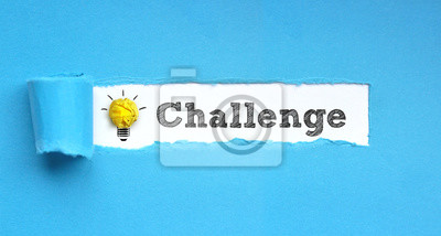 Bild Herausforderung / Papier