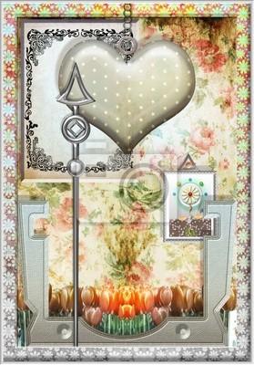 Herz des Heiligen Valentino.