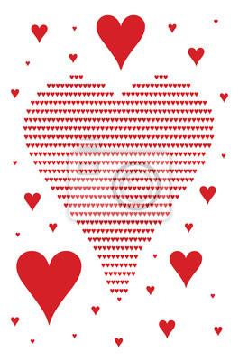 Bild Herz-Symbole