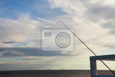 Bild Himmel und Meer an der Pier