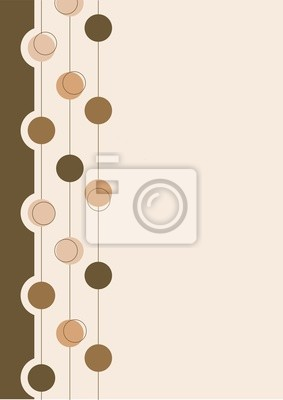Hintergrund beige mit abstrakten Elementen