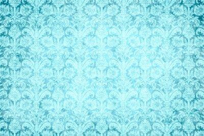 Bild Hintergrund - blauer Prunk