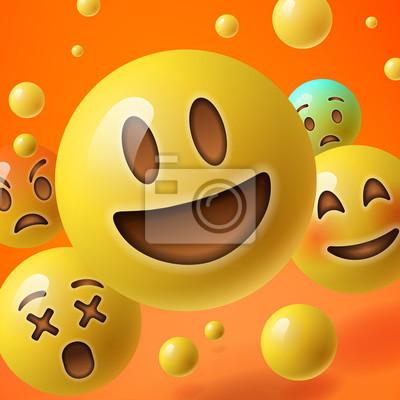 Smileys bilder von 35 Emojis