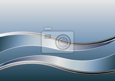 Hintergrund mit Wellen.
