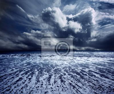 Hintergrund Seesturm