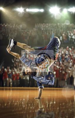 Hip-Hop dancer  challenge