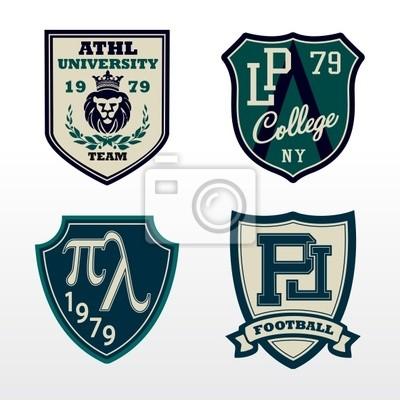 Hochschulathletische Crest Patch