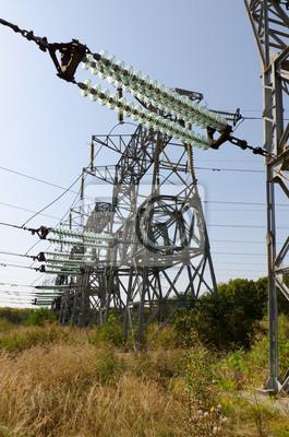 Hochspannungs-Stromversorgung mit Glas Transmission Insulators
