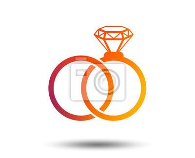 Hochzeit Ringe Zeichen Symbol Engagement Symbol Designelement