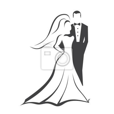Hochzeitspaar Leinwandbilder Bilder Ausschnitt Umarmen Brautigam