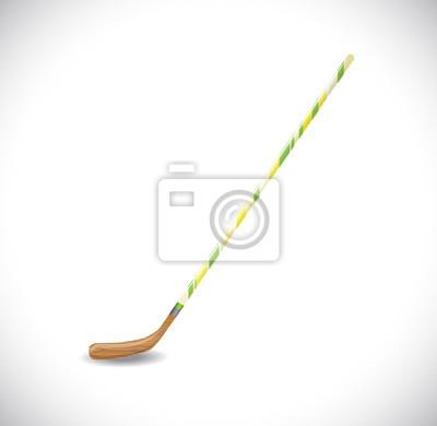 Hockeyschläger.