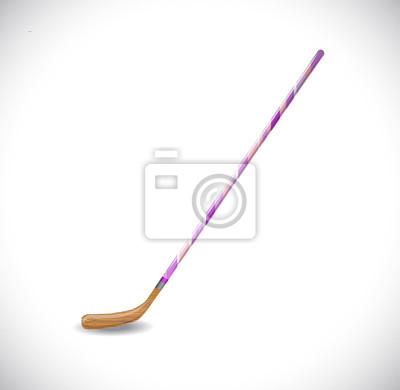Hockeyschläger. Abbildung 10 Version.