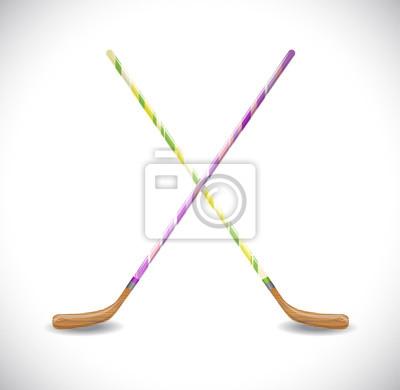 Hockeystöcke. Abbildung 10 Version