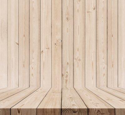 Holz Textur Hintergrund Eiche Holz Wand Und Boden Leinwandbilder