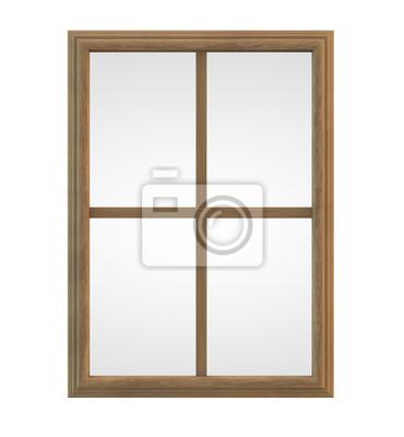 Holzfenster Leinwandbilder Bilder Fenster Rahmen Teiler
