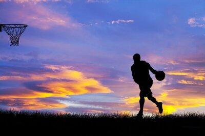 Bild Hombre jugando ein baloncesto