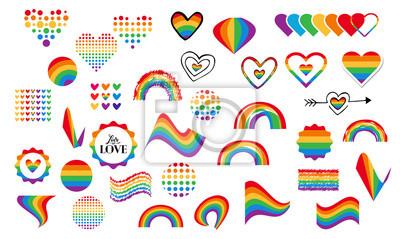 Bild Homosexuell Regenbogen Symbole