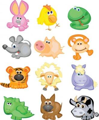 Bild Horoskop, niedliche Tiere