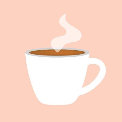 Bild hot coffee cup icon- vector illustration
