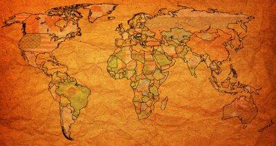 Bild hungary territory on world map