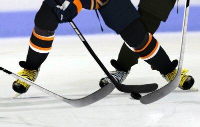 Bild Ice Hockey players on rink