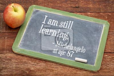 Bild Ich bin immer noch lernen - Weiterbildung