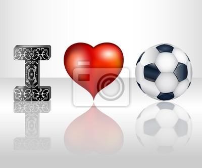Ich liebe Fußball. Abbildung 10 Version