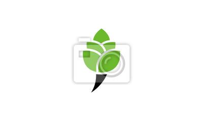 Bild icon green leaf