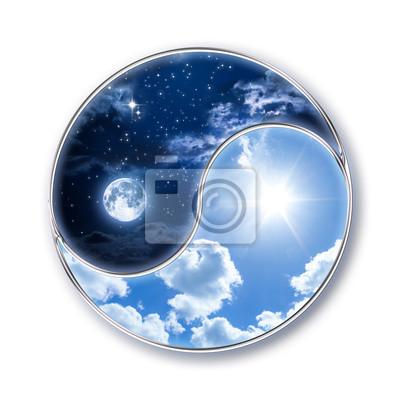 icon tao - Mond und Sonne