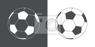 Icono plano balon futbol # 1