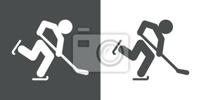 Icono Plano Hockey Hielo # 1