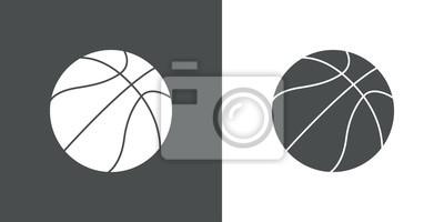 Icono Plano Pelota Baloncesto # 1