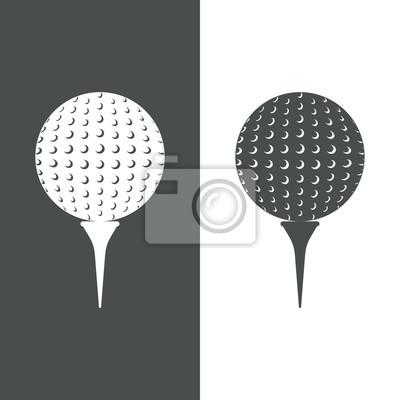 Icono Plano Pelota Golf # 1