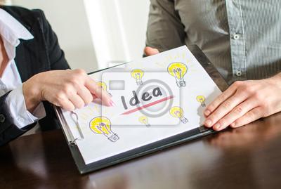 Bild Idea concept