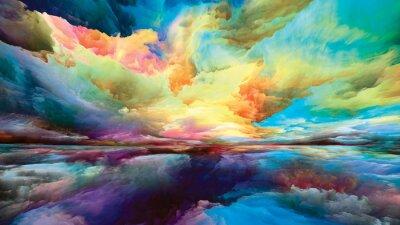 Bild Illusion of Land and Sky
