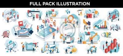 Bild illustration business