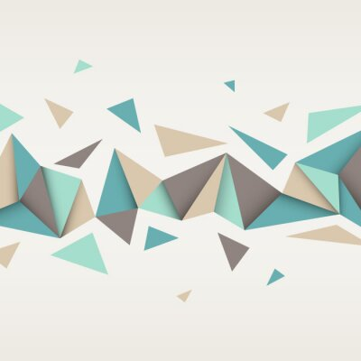 Bild Illustration of abstract texture with triangles.