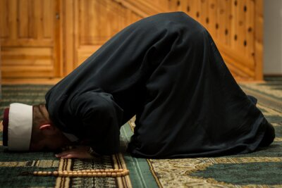Bild Imam praying
