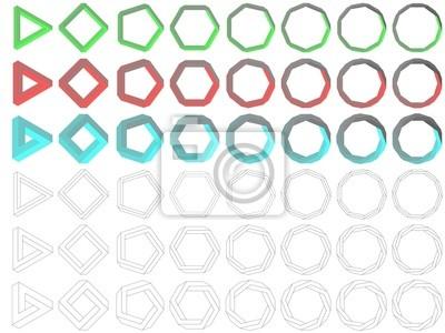 Impossible Polygon Sammlung