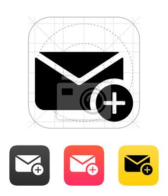 In Mail-Symbol. Vektor-Illustration.
