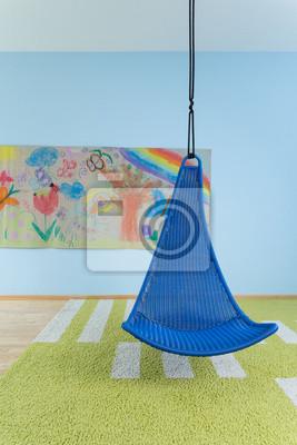 Bild: Indoor schaukel im kinderzimmer