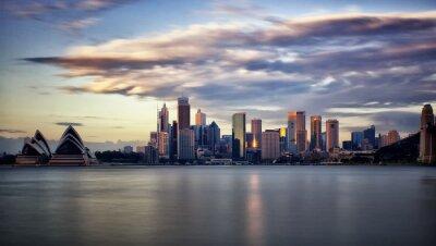 Bild Innenstadt von Sydney bei Sonnenaufgang