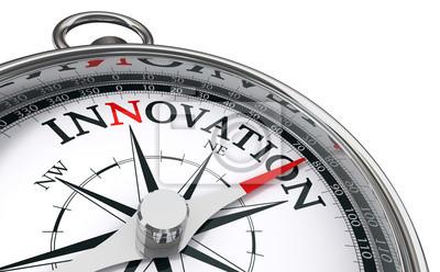 Bild Innovation Konzept Kompass