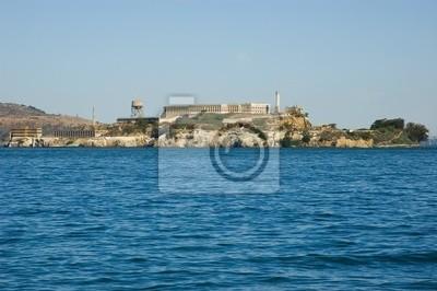 Bild Insel Alcatraz in San Francisco Kalifornien