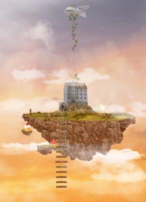 Bild Insel in den Himmel